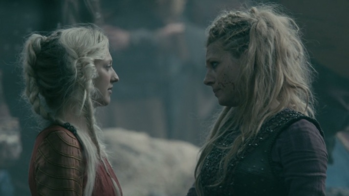 Lagertha assures Torvi that her son is well and she has no doubts the Gods have great plans for him