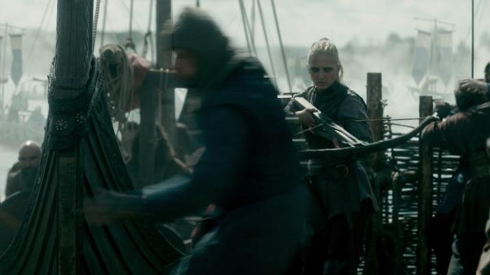 Torvi has inherited Erlandeur's crossbow