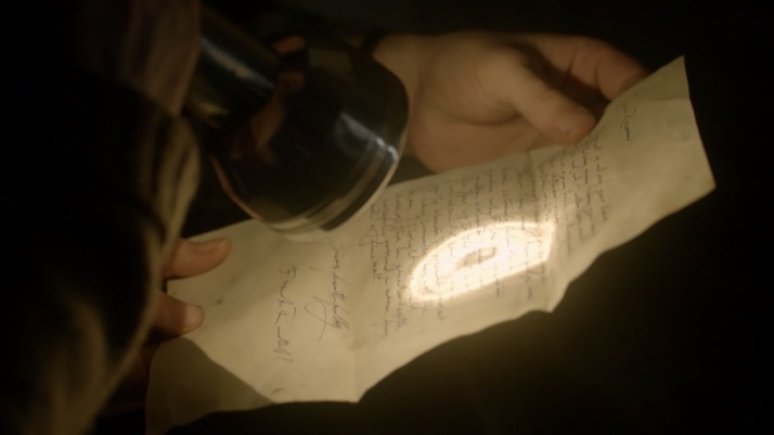 letter from Frank asking rev to quit searching for Jack He's not the man I thought he was