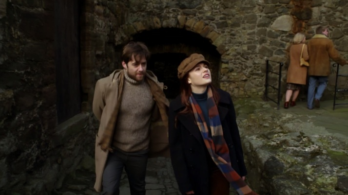 Roger and Bree at Fort William