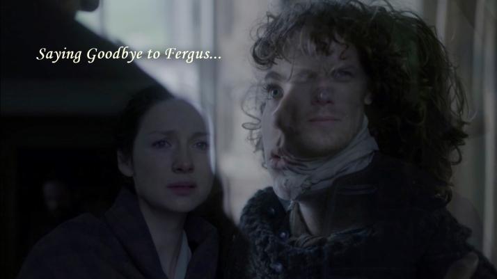 sending Fergus to Lallybroch for two purposes...