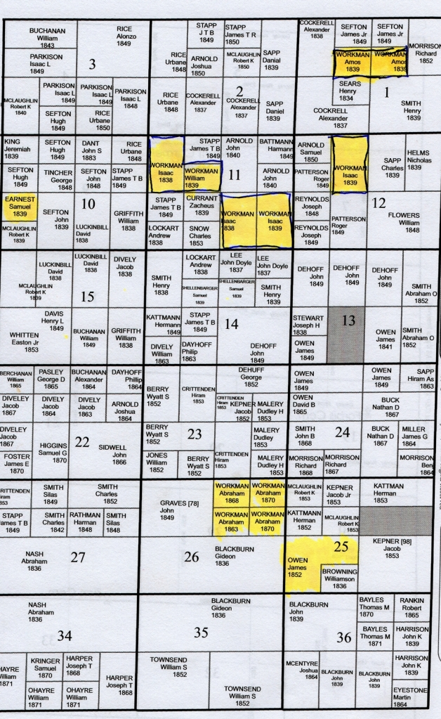 fayette-county-family-maps-patent-map-twnshp7-range2e-showing-workman-land-purchases